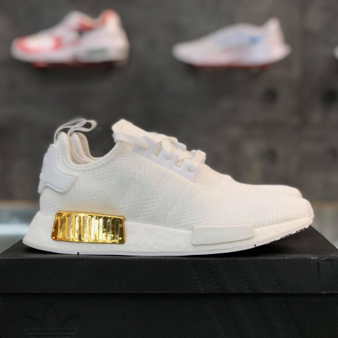 adidas NMD R1 'WHITE GOLD METALLIC'