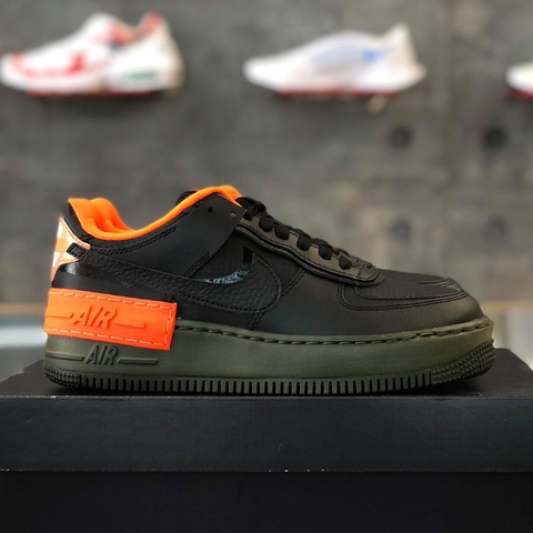 NIKE AIR FORCE 1 SHADOW 'HYPER CRIMSON CARGO KHAKI'