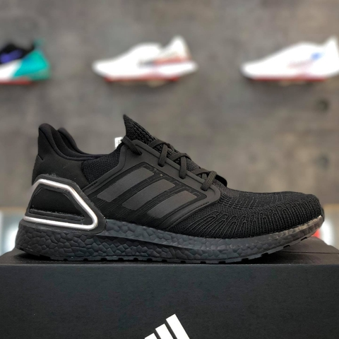 adidas ULTRA BOOST 20 'BLACK SILVER METALLIC'