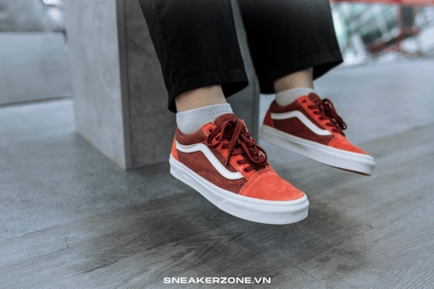 VANS OLD SKOOL x J.CREW 'RED ORCHE'