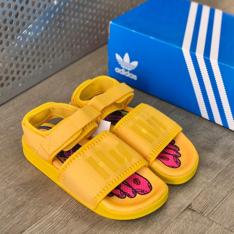 adidas ADILETTE 2 x PHARRELL WILLIAMS 'YELLOW'