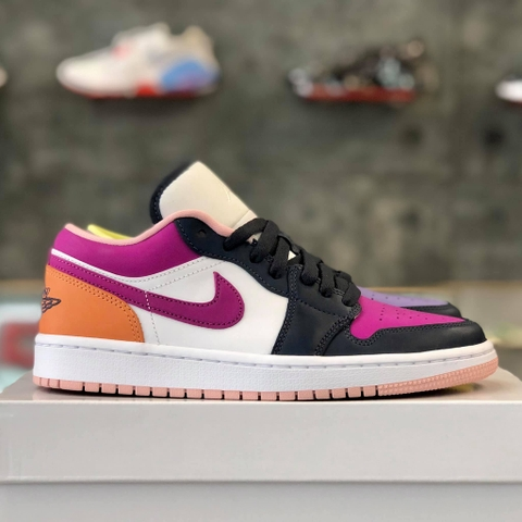 NIKE AIR JORDAN 1 LOW WMNS 'PURPLE MAGENTA'