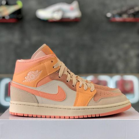 NIKE AIR JORDAN 1 MID WMNS 'ATOMIC ORANGE'