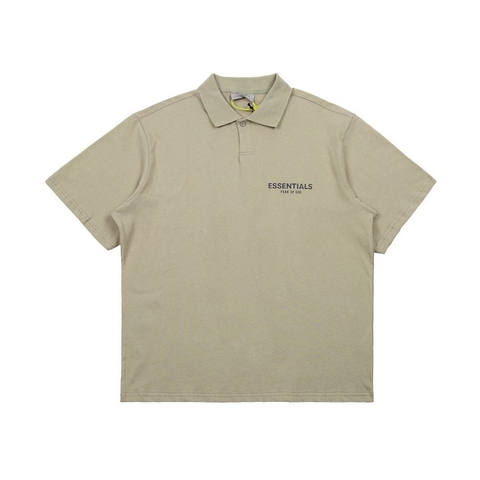 Fear Of God Essentials Polo Shirt 'Olive'