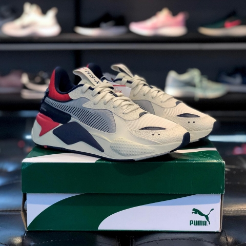 PUMA RS-X HARD DRIVE 'WHITE PEACOAT RED'