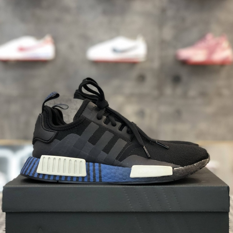 adidas NMD R1 'MONOCHROME CORE BLACK AND GREY'