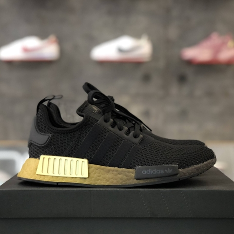 adidas NMD R1 'BLACK METALLIC GOLD'