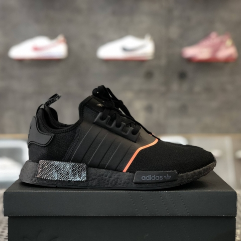 adidas NMD R1 'BLACK SOLAR RED'