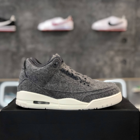 NIKE AIR JORDAN 3  RETRO 'WOOL'