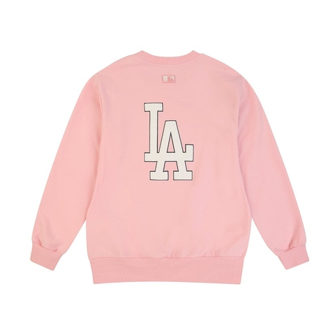 MLB Sweater LA BigLogo Pink