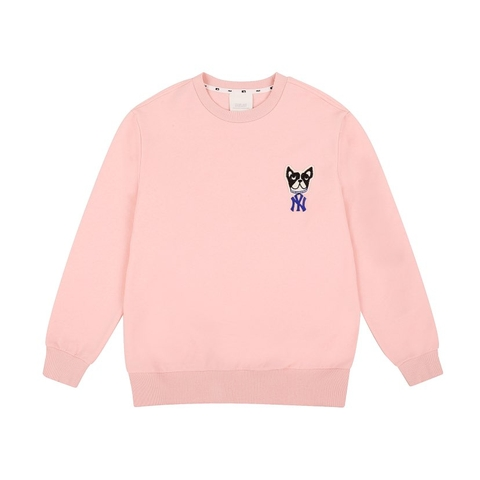 MLB Sweater Bull Pink