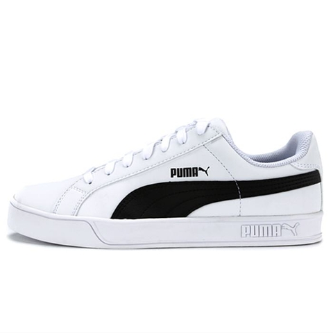 Puma Smash Vulc white black