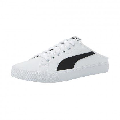 Puma Slip-on Bari Mule White Black