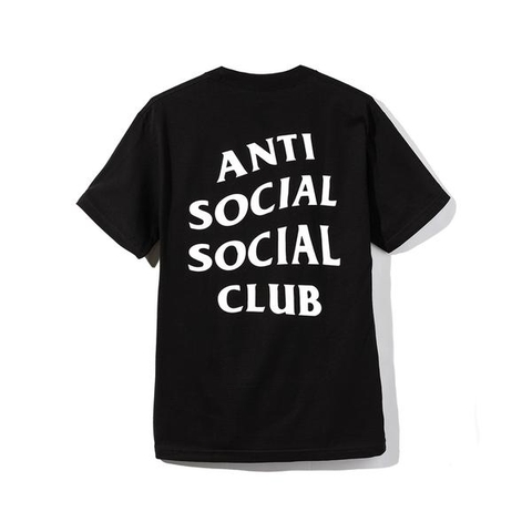 Anti Social Social Tee Basic Black