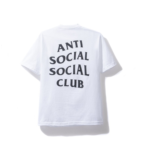 Anti Social Social Tee Basic White