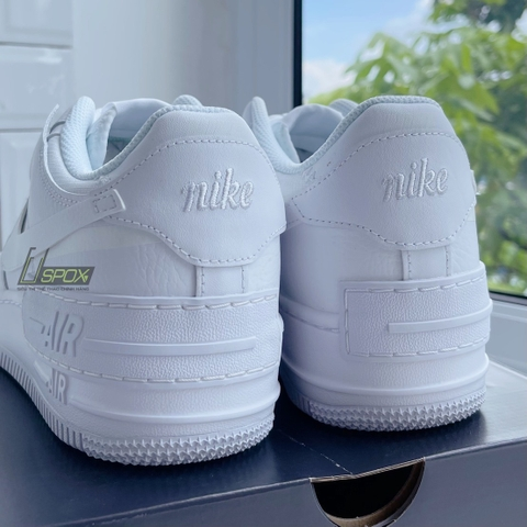 Nike AirForce 1 Shadow White