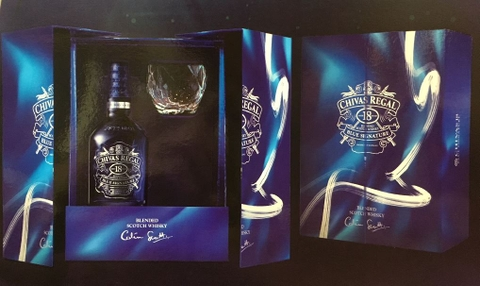 Chivas Regal 18 Blue Signature
