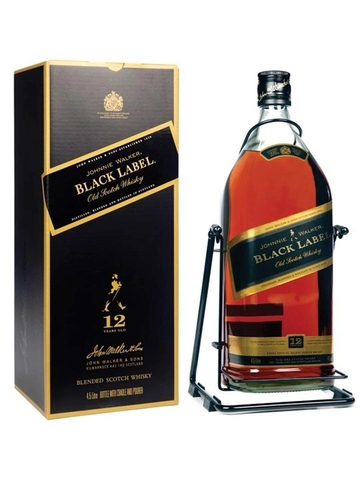 RƯỢU JOHNNIE WALKER BLACK LABEL 4.5L