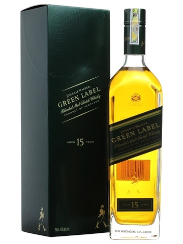 RƯỢU JOHNNIE WALKER GREEN 15 NĂM