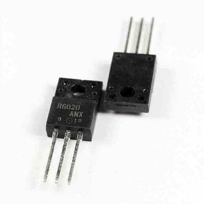 Mosfet R6020 TO220F mới HK-528-3