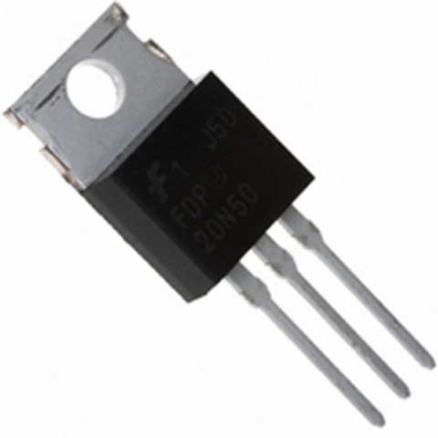 MOSFET N-Channel, FRFE 500V, 20A, 0.26Ω 20NF50