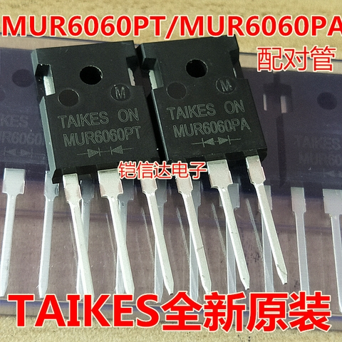 Diode Germany TAIKES MUR6060 MUR6060PA 60A 600V mới ( 1 cặp)