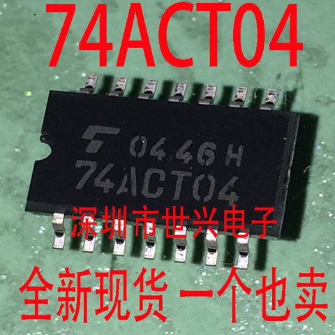 74ACT04 TC74ACT04F SMD SOP14 trong thân IC chip logic 5.2 HK-48-3