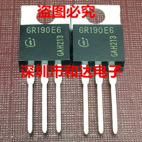 Mosfet 6R190E6 IPA60R190E6 mới TO-220F