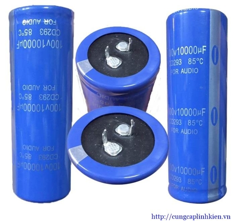 Tụ 10000uF 100V 35x100mm Addison