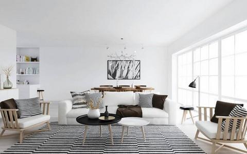 Thư giãn từ cách trang trí nội thất đơn giản