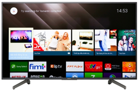 Android Tivi Sony 4K 55 inch KD-55X8000G (Mẫu 2019)