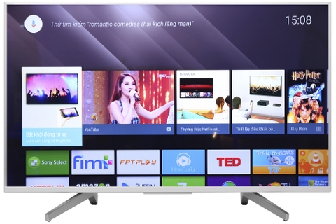 Android Tivi Sony 4K 49 inch KD-49X8500F/S ( Viền Trắng )