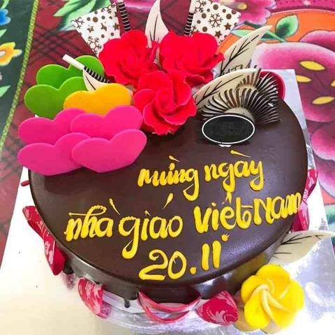 GV21 - Bánh kem 20/11 truyền thống