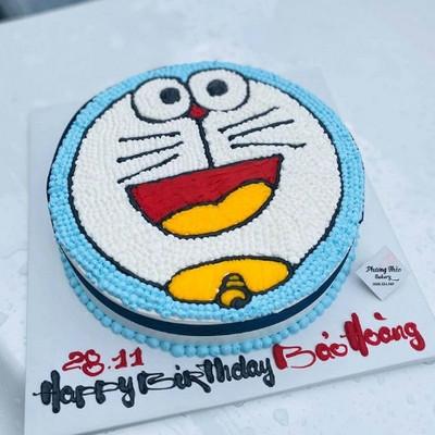 Doraemon - bánh kem cho bé trai
