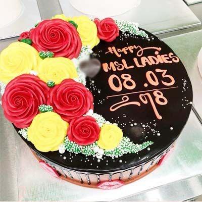 bm10 - bánh kem hoa đẹp