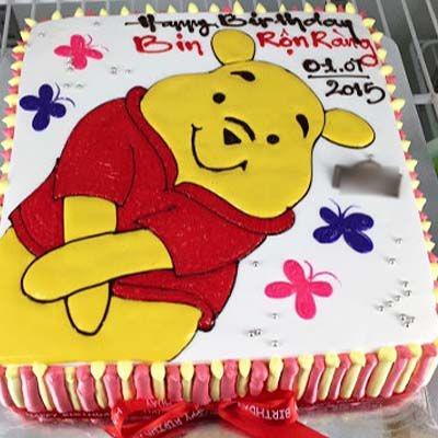 bnh9 gấu Pooh tạo dáng