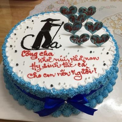 Tình yêu ngọt ngào - Bánh sinh nhật cho Bố