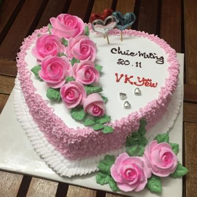 Vk yêu - bánh sinh nhật cho vợ