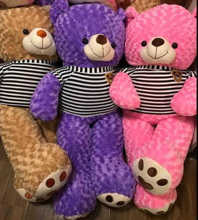 GB10 Gấu bông Teddy đủ màu
