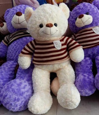 GB20 Gấu bông Teddy trắng