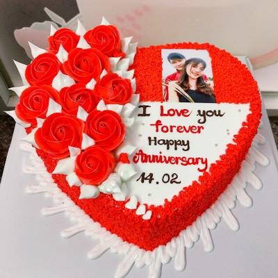 I love you - bánh sinh nhật tặng bạn gái