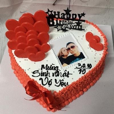 Sinh nhật vợ yêu - bánh kem cho vợ