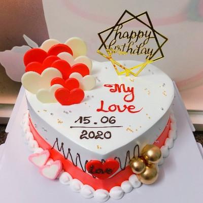 My love 1 - bánh sinh nhật người yêu