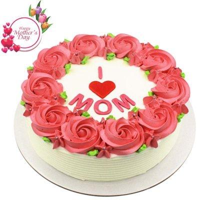 NCM31 - Bánh kem hoa hồng tặng mẹ
