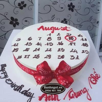 PN48- bánh kem cuốn lịch