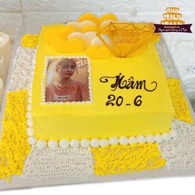 S21 bánh vuông màu vàng in ảnh