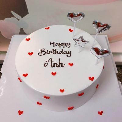 Tình yêu đầu - bánh sinh nhật cho bạn trai