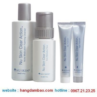 CLEAR ACTION ACNE MEDICATION SYSTEM - TRỊ MỤN HIỆU QUẢNUSKIN