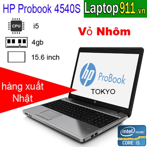 laptop hp probook 4540s