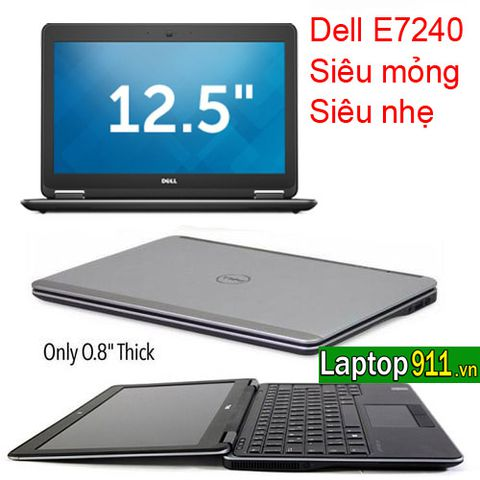 laptop dell E7240